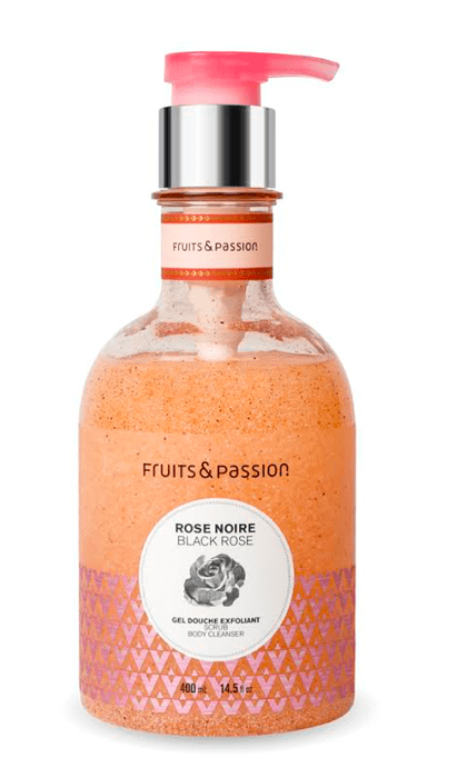 Fruits and passion black rose scrub and cleanser