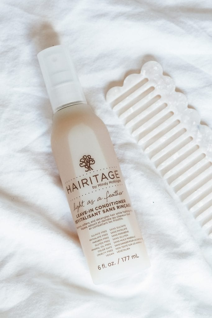 Light as a feather leave in conditioner.